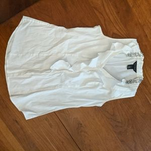 White House Black Market sleeveless dress shirt 4